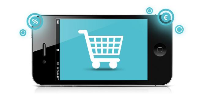 achat sur mobile - M Commerce