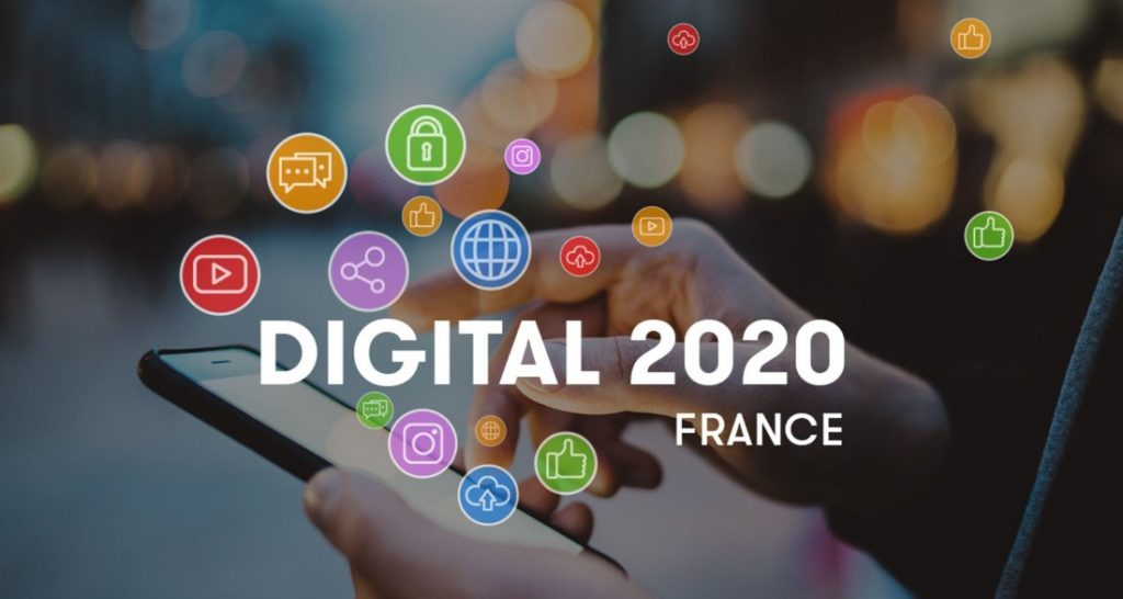 Digital 2020 France by We Are Social